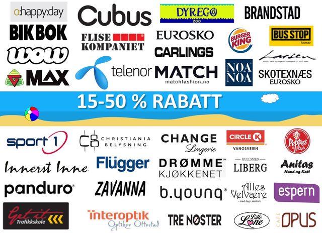 8679bdb7 Ha en riktig god sommer, og husk ENJOY kortet til shopping !